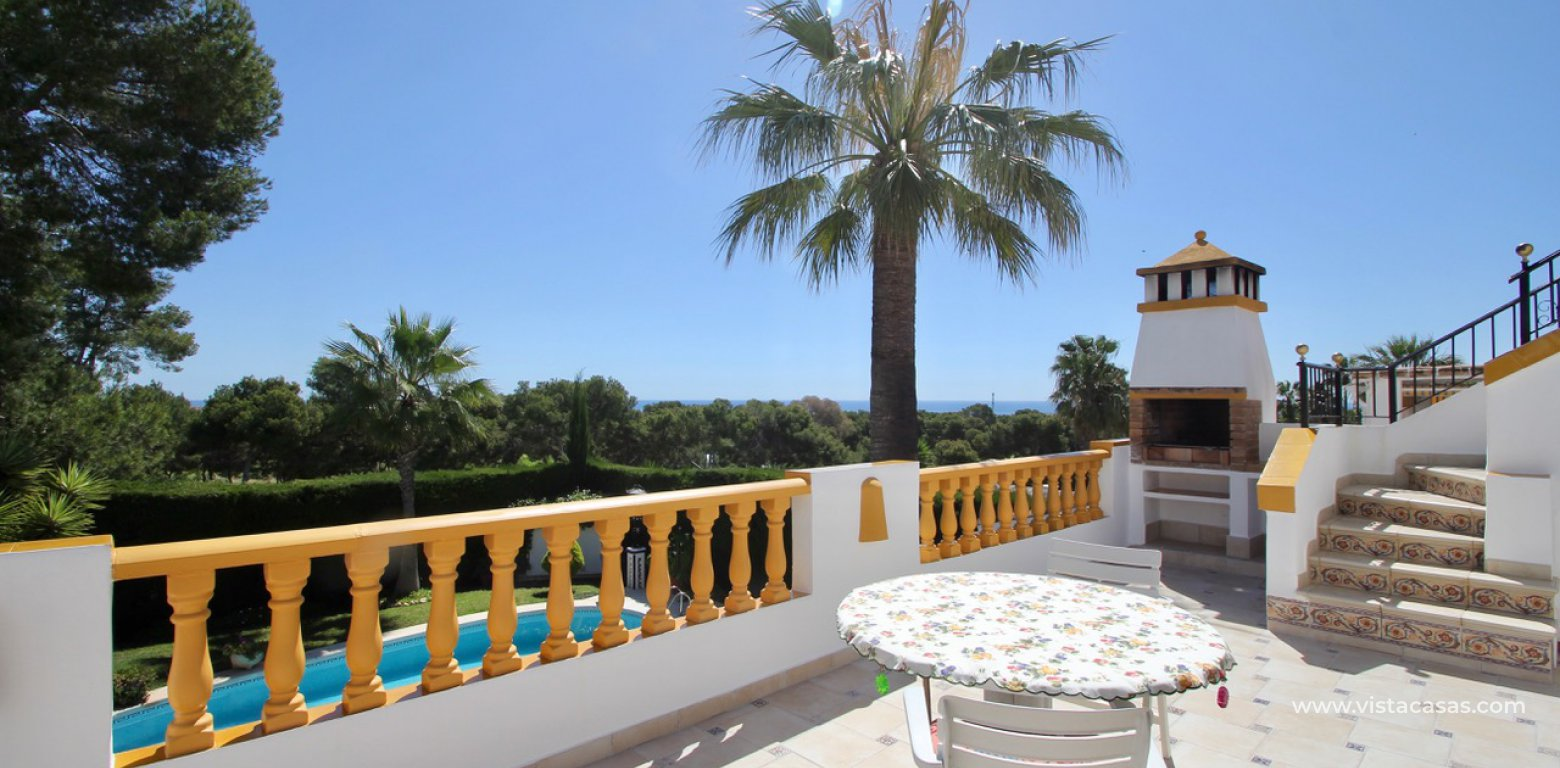 Frontline golf villa for sale in Villamartin terrace