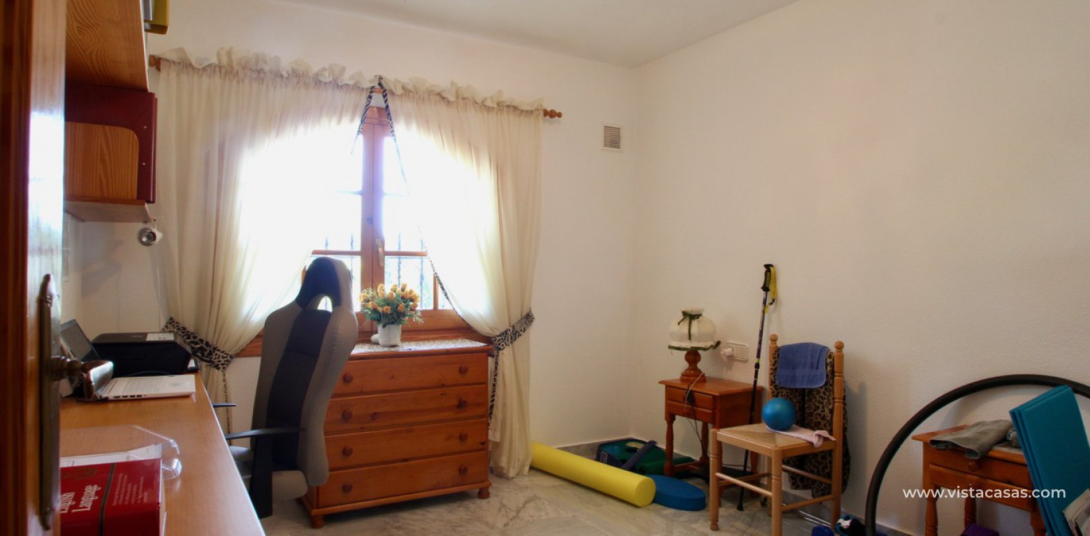 Frontline golf villa for sale in Villamartin bedroom 1