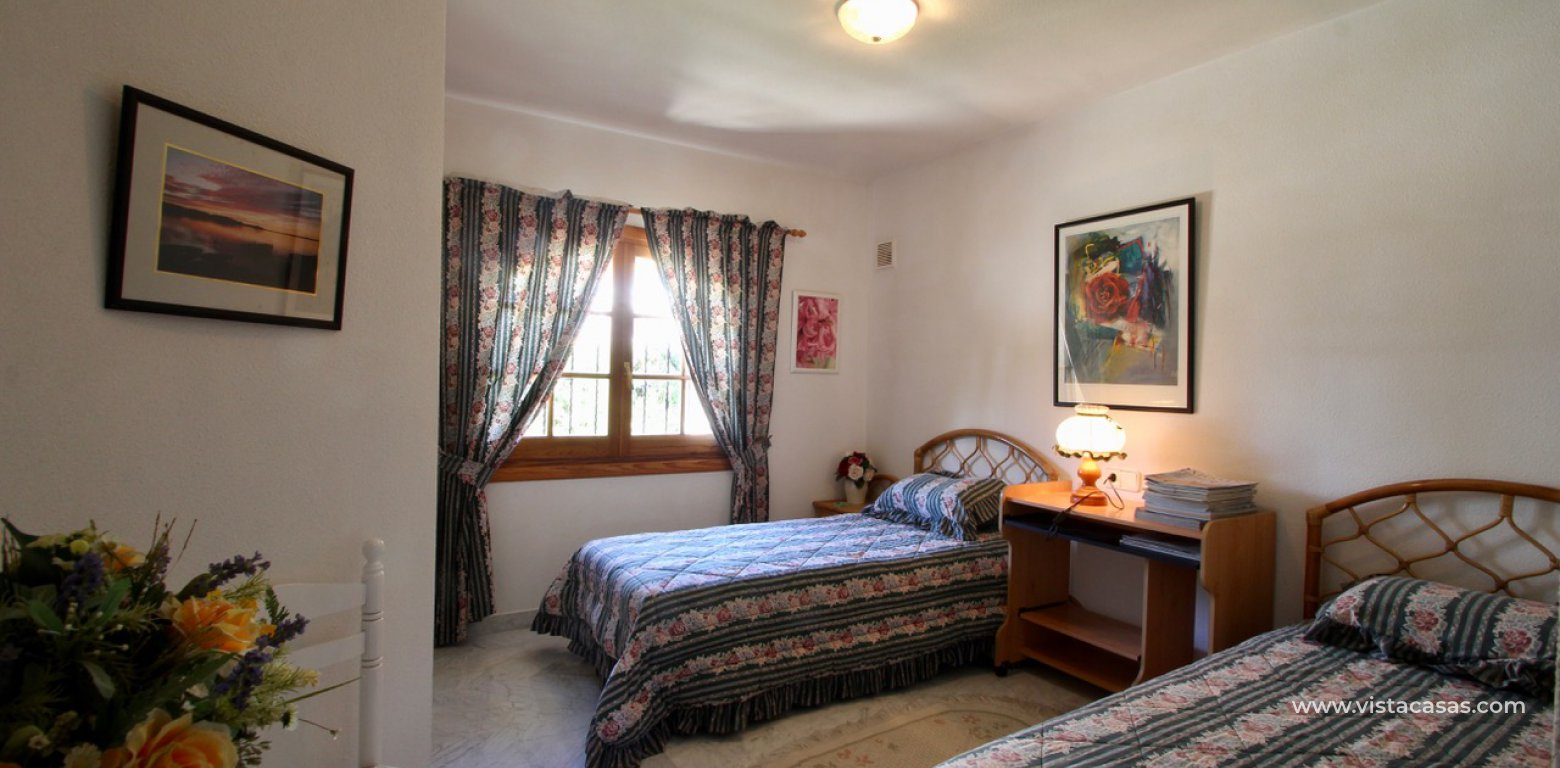Frontline golf villa for sale in Villamartin bedroom 2