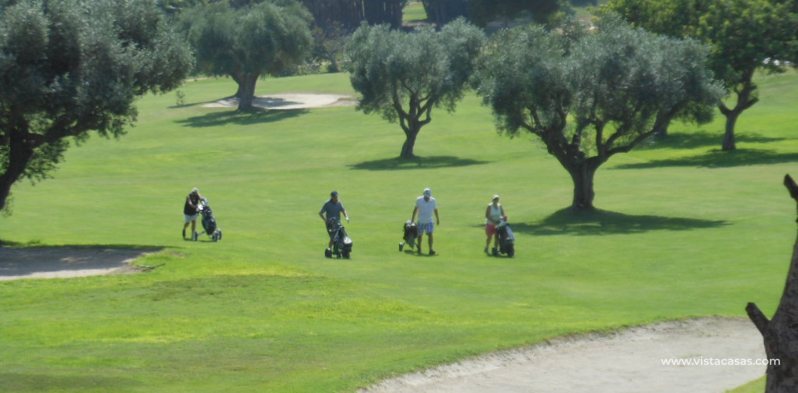 Frontline golf villa for sale in Villamartin golf